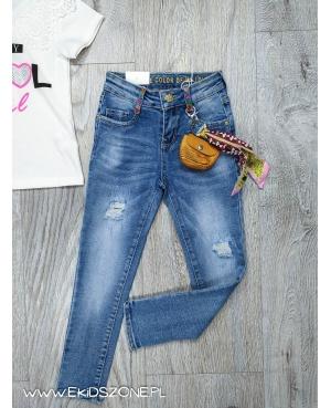 spodnie jeans dla dziewczynki