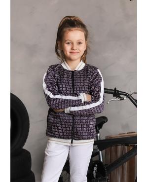 bluza bomberka dla dziewczynki