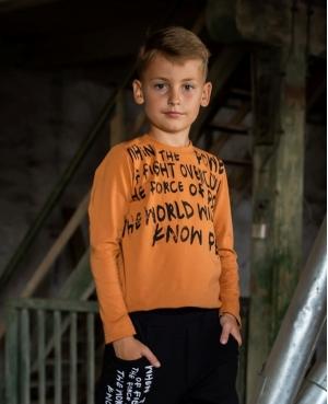 Bluzka long pomarańczowa KIZ