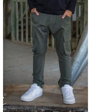 Spodnie bojówki KIZ khaki