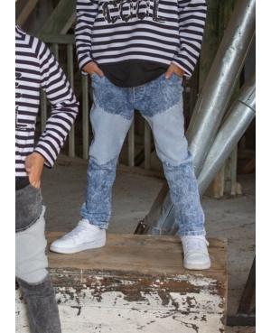 Spodnie jeans KIZ niebieskie
