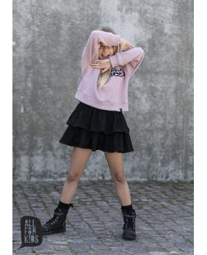 Komplet sweterek z sukienka...