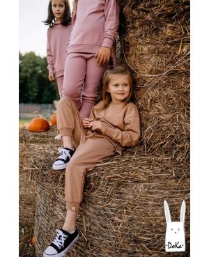 Spodnie karmelowe DOKA