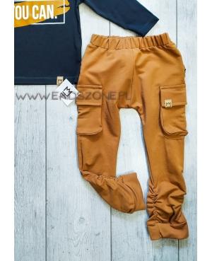 Spodnie MIMI bojówki karmelowe