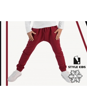 Spodnie BASIC z sznurkiem...